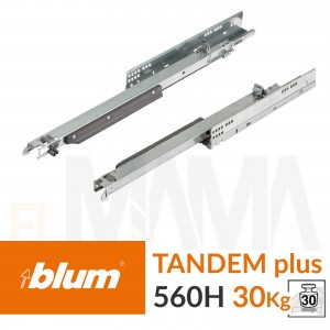 Blum tandem plus ad estrazione totale portata 30kg