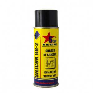 Grasso Spray di puro olio di Silicone per lubrificare accoppiamenti plastica / metallo
