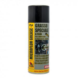 Grasso lubrificante al teflon resistente all' acqua, al vapore a soluzioni saline e acide