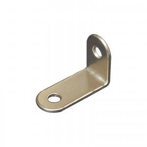 Piastrina in acciaio ad angolo per schienali 235mmx340mm