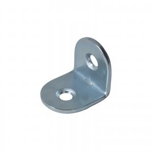 Piastrina di supporto o rinforzo ad angolo 17x17mm
