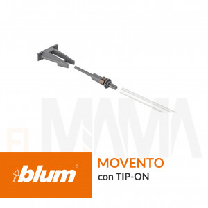 Set di sincronizzazione Tip-On per guide movento con tip-on e cassetti legrabox con tip-on