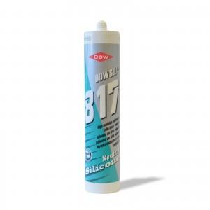 Silicone neutro per specchi Colore bianco Dowsil 817