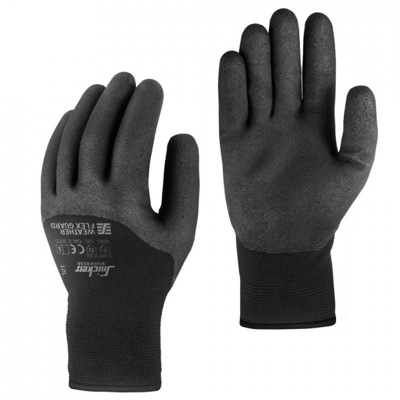 guanti invernali Weather Flex Guard nero
