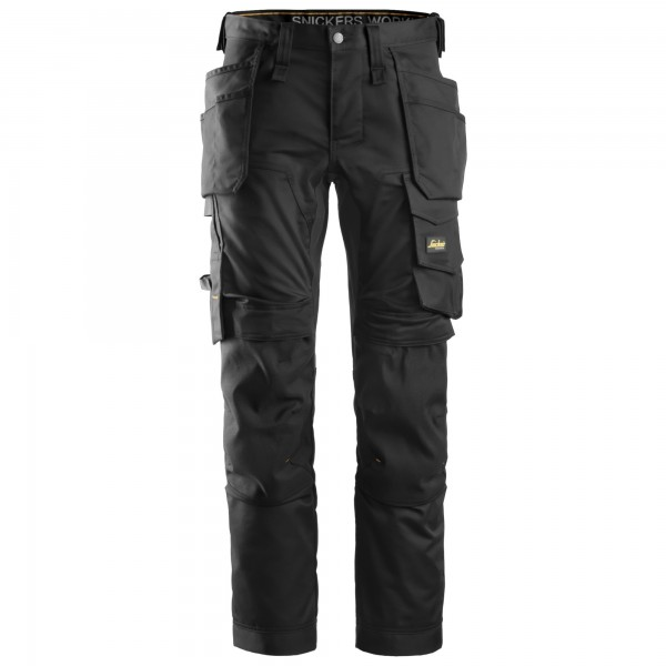pantalone Stretch Allroundwork Snickers nero