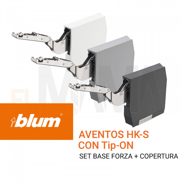 Blum Aventos HK-S con Tip-On | cerniere per ante a ribalta