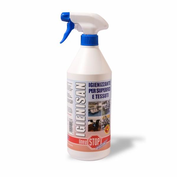 Igenizzante superfici e tessuti per tenere pulito il tuo posto di lavoro