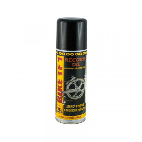 Olio sintetico additivato con microflon per bici