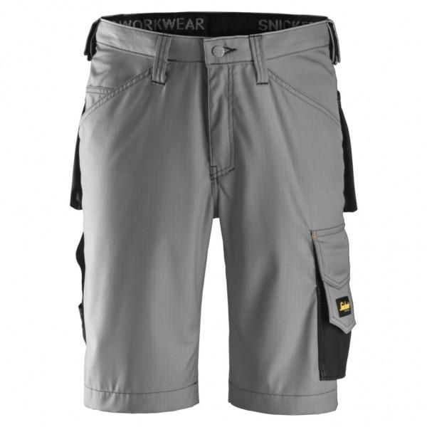 Pantaloni corti rip-stop 3123 Grigio Snickers Workwear