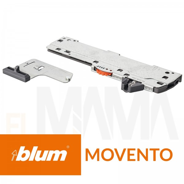Set tip-on per guide moment con blumotion di Blum